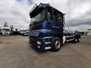 MERCEDES-BENZ 2648 L 6x4 HIAB Multilift 20 Tons, Manual Gearbox,Steel/Air
