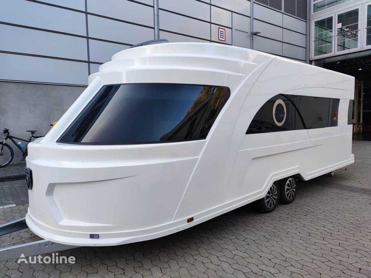uudet Derubis DERUBIS Series 7 / Monocoque / Wohnwagen wie eine Yacht asuntovaunu