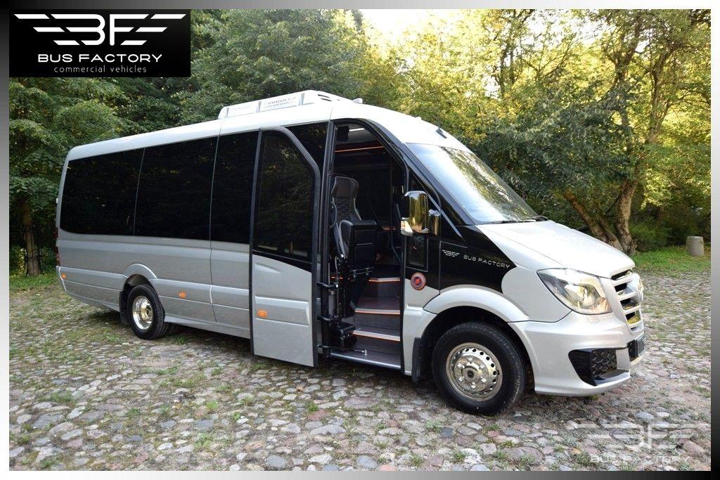 Mercedes Benz Sprinter >> Uudet Mercedes Benz Sprinter 519 Xxl Luxury Line 20 1 Ready On Stock Pikkubussi