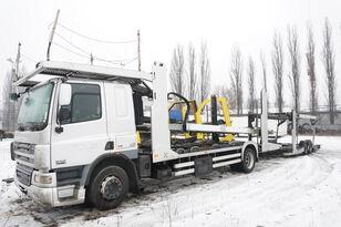 DAF CF 75 360 , E5 , 4x2 ,MEGA , LOHR , retarder , sleep cab  autonkuljetusauto + autonkuljetusperävaunu