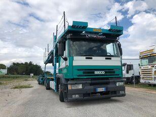 IVECO EUROTECH bisarca veicoli + biga Rolfo autonkuljetusauto
