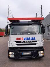 IVECO STRALIS autonkuljetusauto + autonkuljetusperävaunu