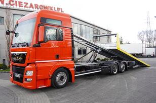 MAN TGX 26.440 XXL , E6 , 6X2 , NEW BODY 7,5m , hydraulic , 2x winch autonkuljetusauto