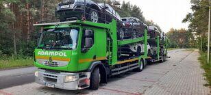 RENAULT Premium 410 autonkuljetusauto + autonkuljetusperävaunu