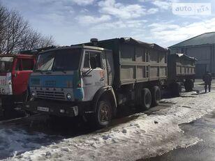 KAMAZ 55102 avolavakuorma-auto + avolava perävaunu