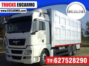 MAN TGX 28 480 eläinkuljetusauto