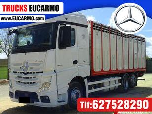 MERCEDES-BENZ ACTROS 25 45 eläinkuljetusauto