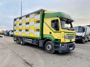 vioittuneet RENAULT PREMIUM 460  eläinkuljetusauto