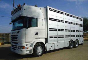 SCANIA R 490 eläinkuljetusauto