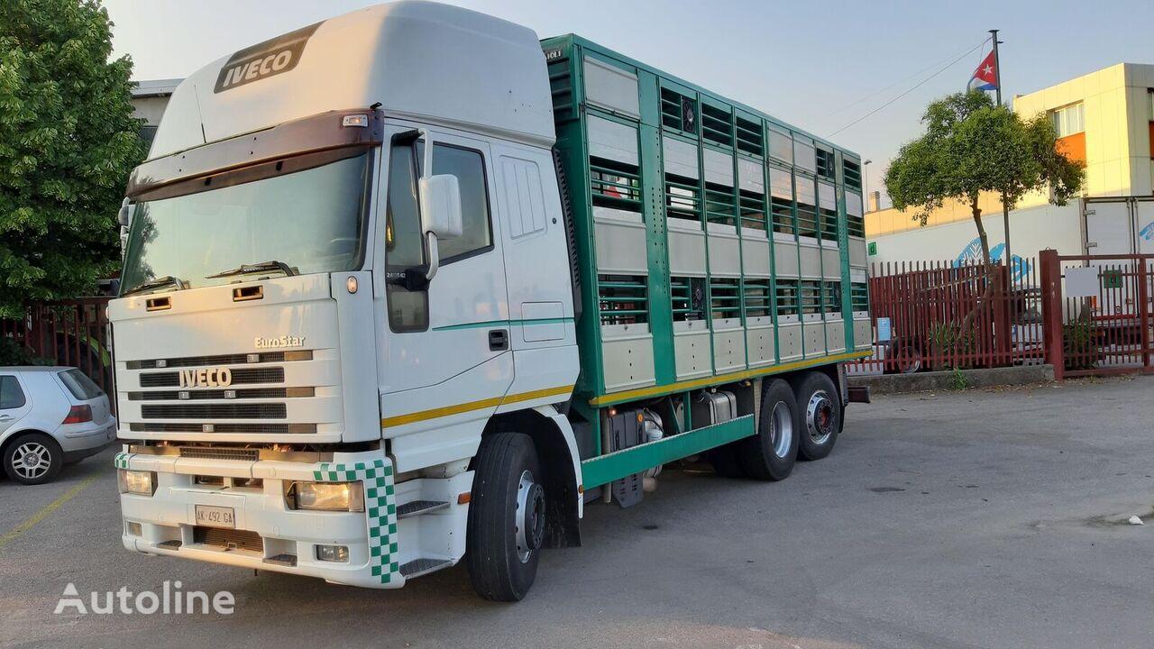 IVECO Eurostar 240E42 eläinkuljetusauto