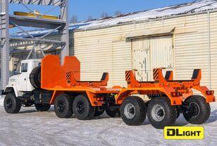 uudet KRAZ 6322-05 putkenkuljetusauto