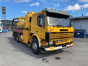 SCANIA P113 320 hp 6x2 vacuum / tank truck full steel säiliöauto