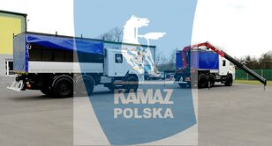 uudet KAMAZ 6x6 SERWISOWO-WARSZTATOWY sotilaskuorma-auto