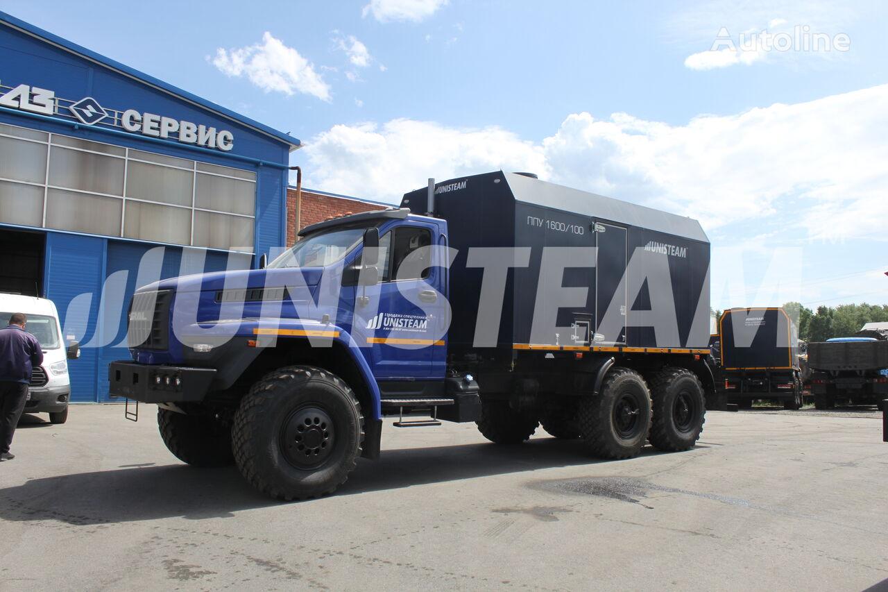 uudet UNISTEAM PPUA 1600/100 serii UNISTEAM-M1 URAL NEXT 4320 sotilaskuorma-auto