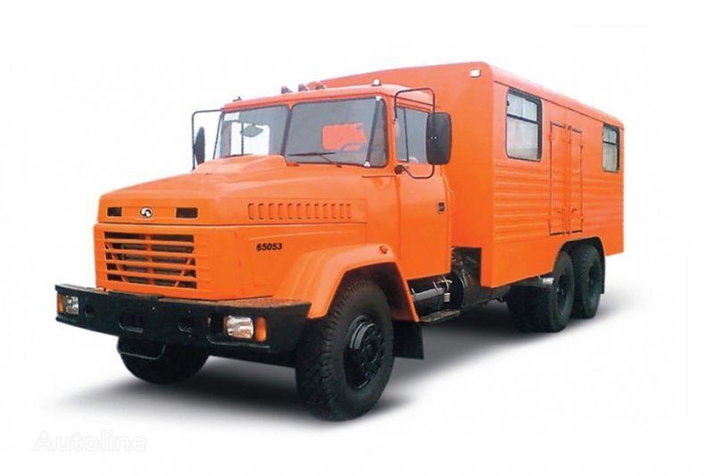 uudet KRAZ 65053 masterskaya  sotilaskuorma-auto