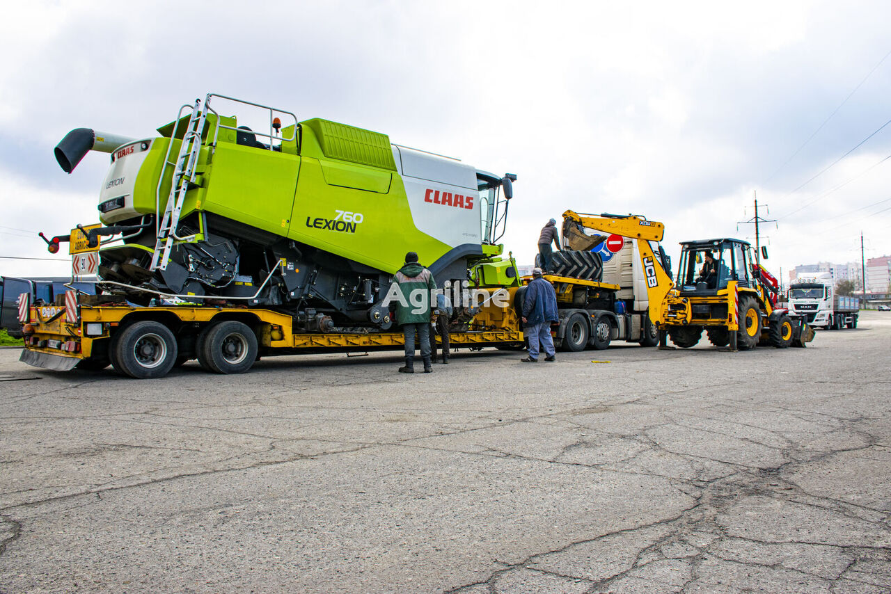 CLAAS Lexion 760 leikkuupuimuri