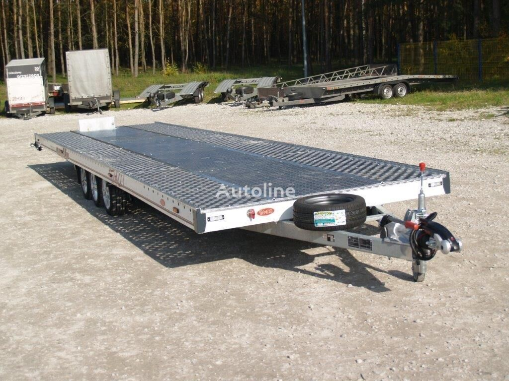 uudet TA-NO TRIO 35.90 FT PREMIUM autonkuljetusperävaunu
