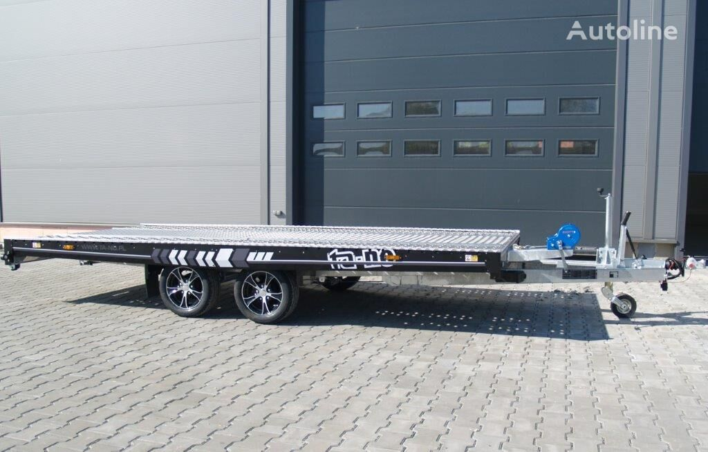 uudet TA-NO UNO 27.45 PREMIUM autonkuljetusperävaunu