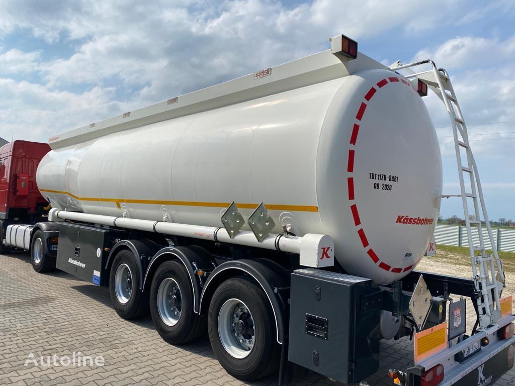 KASSBOHRER 4 comp/ALU polttoainesäiliö perävaunu