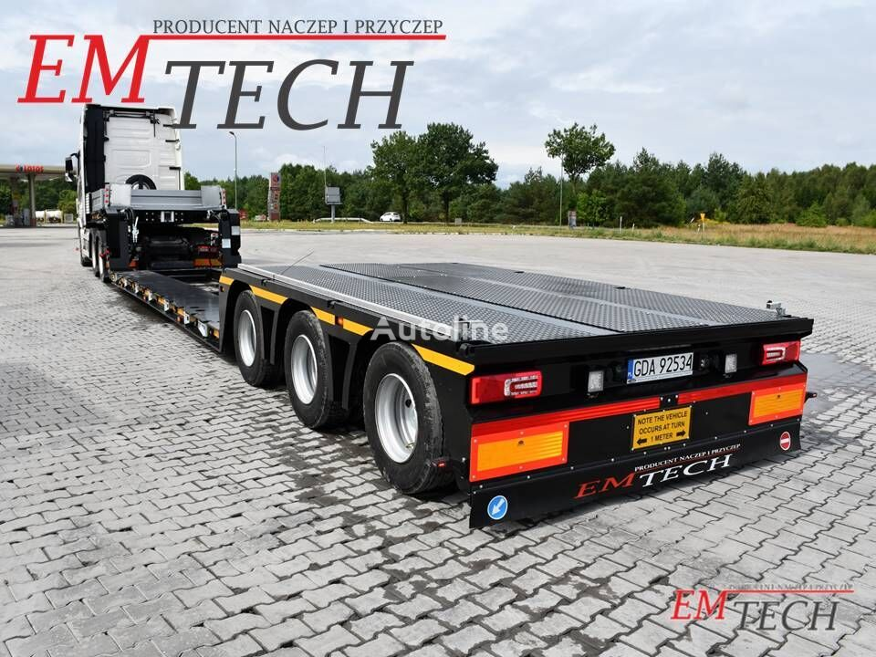 uudet EMTECH 3.NNT-1R-3H puoliperävaunulavetti