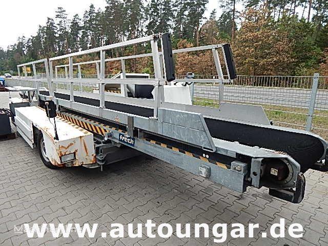 Meyer baggage conveyer belt loader Airport GSE kuljetin