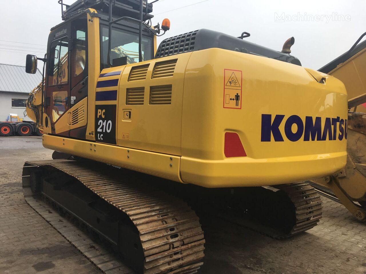 KOMATSU PC210LC-10 telakaivinkone