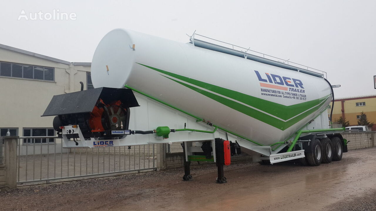 uudet LIDER 2020 NEW 80 TONS CAPACITY  FROM MANUFACTURER READY IN STOCK  sementtisäiliö