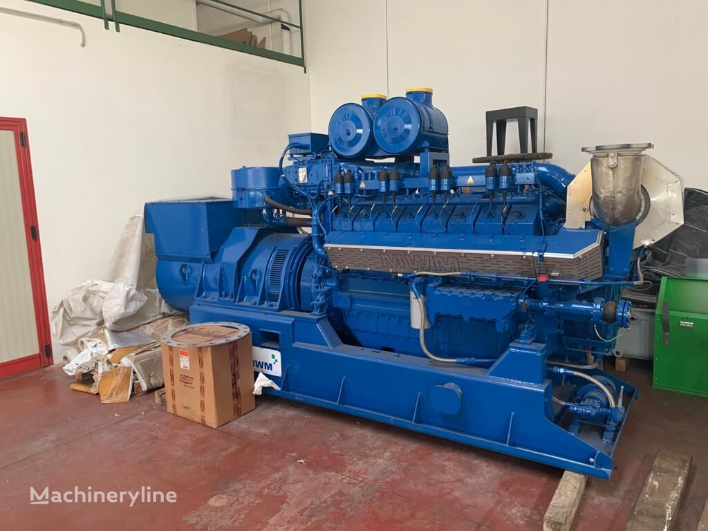 uudet CATERPILLAR MWM TCG2016V16 C muut rakennuskone DEUTZ MWM TCG2016V16C gas genset moottori