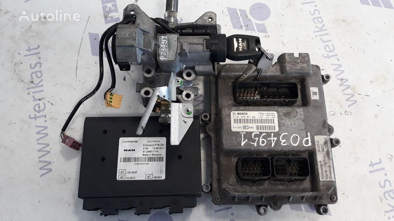 MAN TGX vetopöytäauto MAN D2676 EURO 5 ECU set ohjausyksikkö