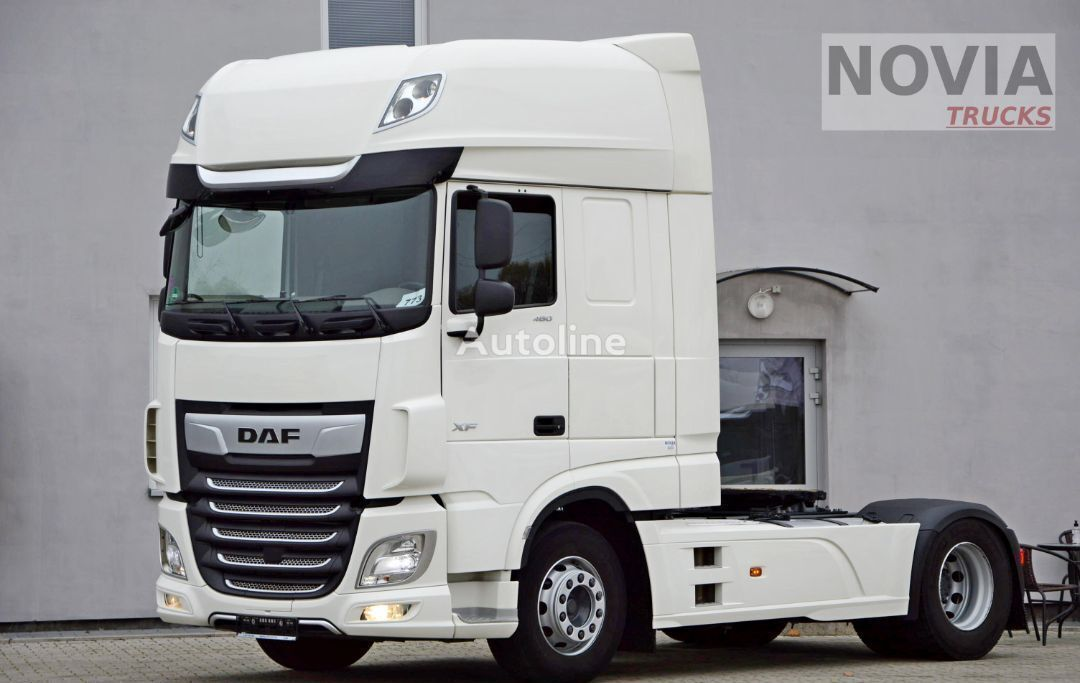 DAF XF 480 INTARDER ZF | FULL LED | MONITOR OSI | LUXURY AIR vetopöytäauto