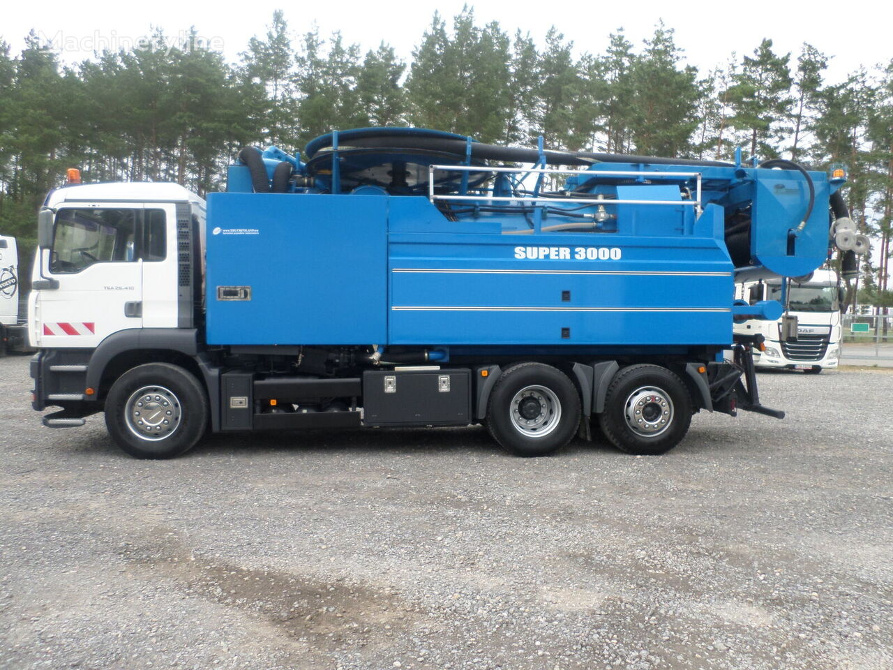 MAN WUKO Wiedemann Super 3000 z recyklingiem PRZEBIEG 53 777 km imuauto
